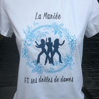 Tshirt enterrement VJF - Loocreation